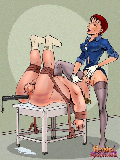 cartoon femdom
